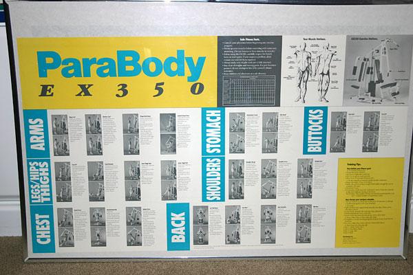 parabody ex 350 weight machine